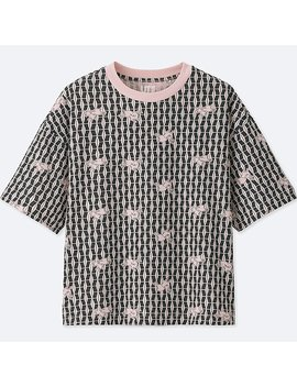 Women Katagami Short Sleeve Graphic T Shirt by Uniqlo