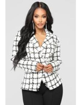 A Little Baggage Jacket   Black by Fashion Nova