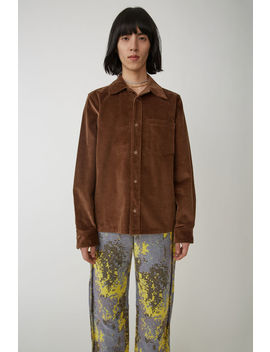 Workwear Shirt Caramel Brown by Acne Studios