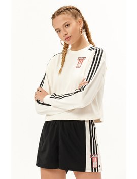 3 Stripes Logo Crew Neck Sweatshirt by Adidas