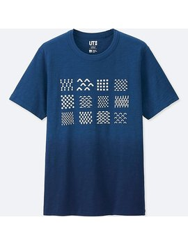 Men Katagami Short Sleeve Graphic T Shirt by Uniqlo