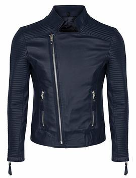 Laverapelle Men's Black Genuine Lambskin Leather Jacket   1510118 by Laverapelle