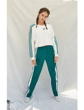 Cropped Snap Button Sweatshirt by Adidas