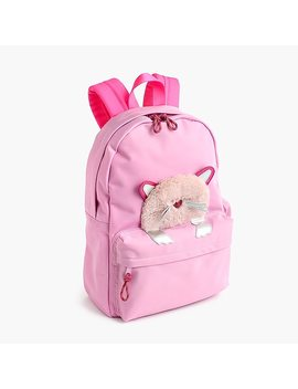 Girls' Peekaboo Kitty Backpack by J.Crew