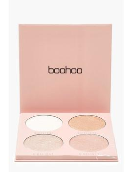 Boohoo Baked Highlighter 4 Shades by Boohoo