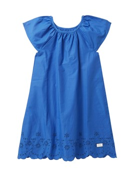 Eyelet Poplin Dress (Big Girls) by 7 For All Mankind