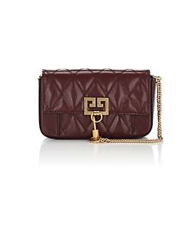 Pocket Mini Leather Crossbody Bag by Givenchy
