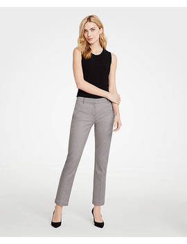 The Ankle Pant In Herringbone by Ann Taylor