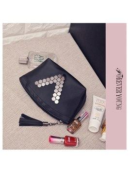 Fashion Travel Cosmetic Bag Women Zipper Make Up Pu Leather Makeup Case Organizer Storage Pouch Toiletry Beauty Wash Kit Case by Xzhjt