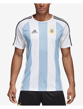 Men's Argentina Home Soccer Shirt by Adidas