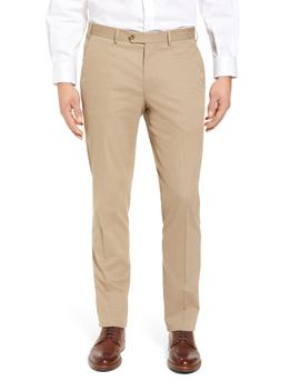 Perfect Flat Front Poplin Pants by Peter Millar Collection