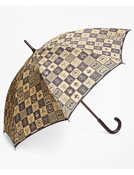 200th Anniversary Special Edition Gold Stick Umbrella by Brooks Brothers