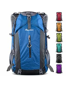 Outdoor Master Hiking Backpack 50 L   Hiking & Travel Backpack W/Waterproof Rain Cover & Laptop Compartment   For Hiking, Traveling & Camping by Outdoor Master