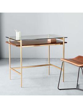 Mid Century Art Display Mini Desk by West Elm