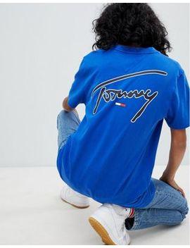 Tommy Jeans   T Shirt Emblématique by Tommy Jeans Capsule