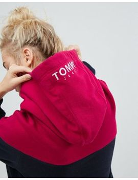 Tommy Jeans   Robe Color Block à Capuche by Tommy Jeans Capsule