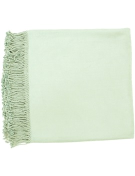Woven Dager Rayon From Bamboo And Cotton Throw by Generic