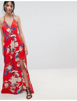 Parisian Floral Print Cami Maxi Dress by Parisian