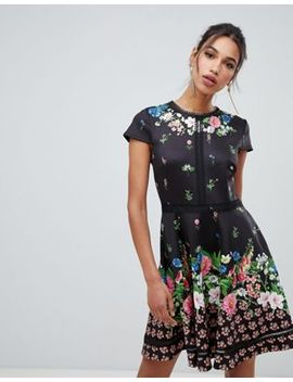 Ted Baker Daissie Florence Trim Skater Dress by Ted Baker