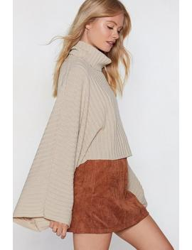 Call Knit A Day Oversized Sweater by Nasty Gal