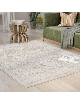 Mistana Hillsby Gray/Beige Area Rug & Reviews by Mistana
