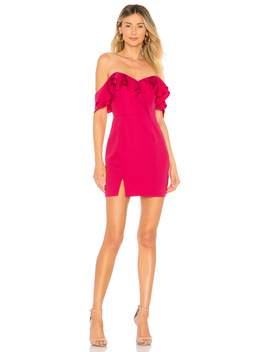 Anette Ruffle Mini Dress by About Us