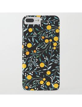 Oranges Black I Phone Case by