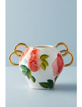 Watercolor Garden Vase by Anthropologie
