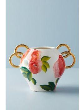 Watercolor Garden Vase by Anthropologie
