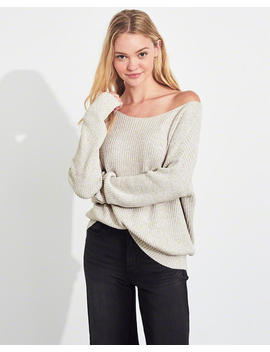 On Or Off The Shoulder Sweater by Hollister