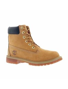 "Kids' Premium 6""  Waterproof Wheat Boots by Timberland"