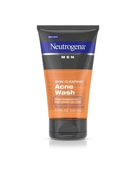 Neutrogena Men Skin Clearing Salicylic Acid Acne Face Wash   5.1 Fl Oz by Shop All Neutrogena