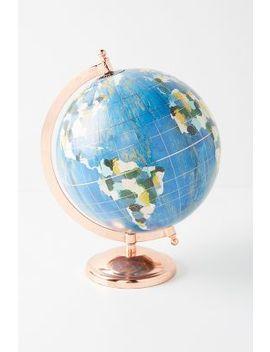 Wanderlust Globe by Kayla Nord