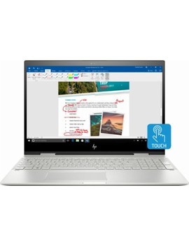 "Envy X360 2 In 1 15.6"" Touch Screen Laptop   Intel Core I7   12 Gb Memory   256 Gb Solid State Drive   Hp Finish In Natural Silver by Hp"