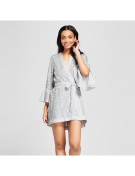 Women's Tencel Floral Printed Robe   Gilligan & O'malley™ Gray by Shop All Gilligan & O'malley™