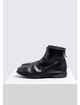 Listolo Back Zip Boot by Marsell