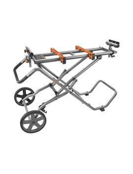 Universal Mobile Miter Saw Stand With Mounting Braces by Ridgid