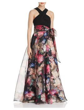 floral-organza-ball-gown by eliza-j