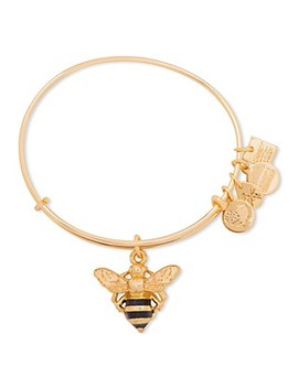 Bumble Bee Expandable Wire Bangle, Charity By Design Collection by Alex And Ani