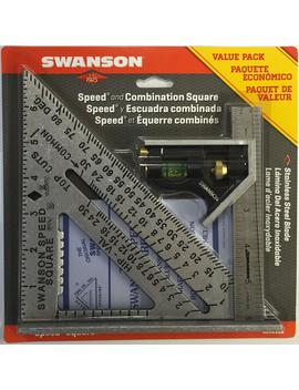Speed Square And Combination Square Bundle by Swanson