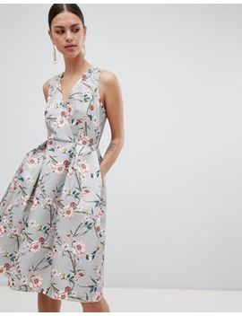 Closet London Printed Dress by Closet