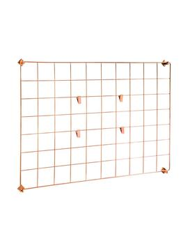 Copper Wall Grid by Honey Can Do