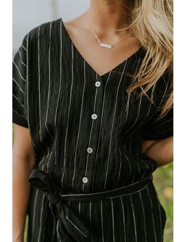 Bursell Stripe Jumpsuit by Roolee