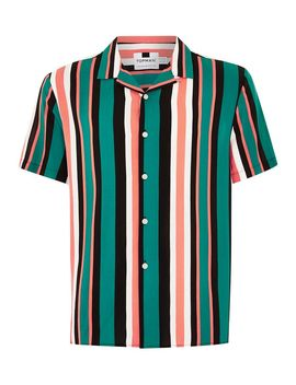 Stripe Short Sleeve Shirt by Topman