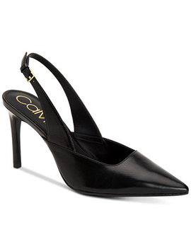 Women's Rielle Slingback Pumps by Calvin Klein