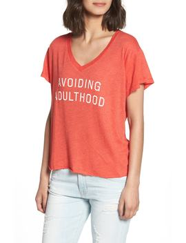 Avoiding Adulthood Romeo Tee by Wildfox