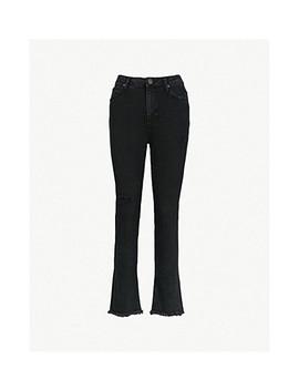 Opera High Rise Skinny Stretch Denim Jeans by Sandro