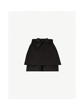 Iloz Crepe Shorts by Maje