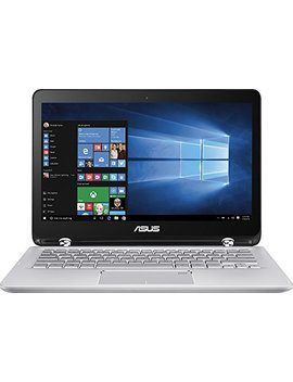 "Asus 2 In 1 13.3"" Touchscreen Full Hd Convertible Laptop, 7th Intel Core I5 7200, 6 Gb Ddr4 Ram, 1 Tb Hdd, Backlit Keyboard, 802.11ac, Bluetooth, Hdmi, Fingerprint Reader, Win 10 by Asus"