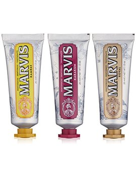 Marvis Wonders Of The World Toothpaste Set, Limited Edition by Marvis